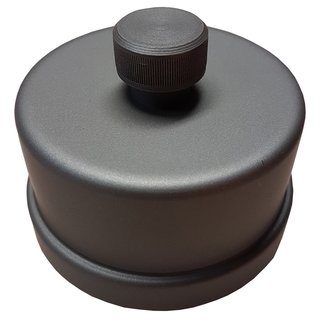 Pelletrohr Kapselwinkel 220 mm (T-Stück mit Kapsel abnehmbar)
