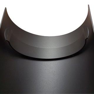 Ofenrohr Hitzeschutzschild für gerades Rohr 465 mm